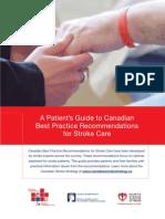 Stroke Patients Guide in Best Practices