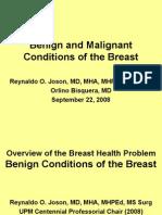 Breast Benign CA Upcm4 Lec Nonotes 08sept22