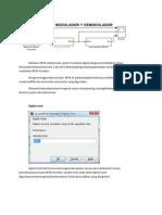 Modulasi BPSK Adalah Suatu System Modulasi Digital Dengan Membedakan Phase
