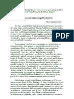 Temas da conjuntura política brasileira (2010)