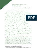 Identidade política, desigualdade e partidos brasileiros
