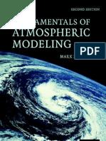 Fundamental of Atmospheric Modeling - Jacobson