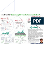 Zentrum für Beziehungsfördernde Kommunikation - A3 Plakat