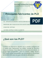 Principales Fabric Antes de PLD
