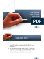 Tax Review l Service Tax Update l April 2011 - 1