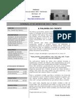Boletim IPJE - 07/08/2011