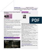August 16 2010 Newsletter