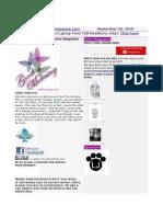 September 20 Newsletter