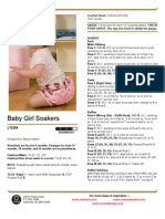 Baby Girl Soakers