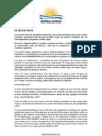 Horacio Ruben Díaz - Texto Revista Grl. Campos