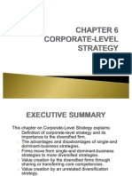 CHAPTER 6 Strategic Management