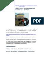 APOSTILA EsFCex - EsAEx - AREA ENFERMAGEM - CONCURSO 2011 - EXÉRCITO