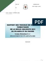6-Rapport Gt1 Fin an Cement Revue 2011