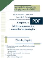 Chapitre 3 -Mise en Oeuvre- (1)