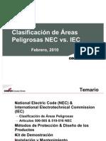 Clasificacion Areas Peligrosas NEC vs. IEC Feb-10