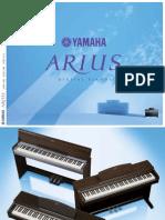 Brochure Yamaha Arius Serie
