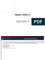 NBME 4 Section 3
