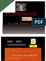 DGAC 2010 Anotaciones Del Dr. Juan Herrera Salazar D4 - Carbohidratos