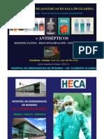 Antisepsia y cos Prof. Dr. Luis Del Rio Diez