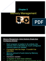 Chapter5 Memory Management