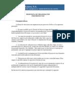 Propuesta de Organizacion Para Empresa de Proyectos