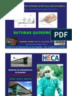 Suturas Quirurgicas Tipos, Diferencias Usos, Indicaciones Prof. Dr. Luis Del Rio Diez