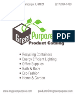 GreenPurposeProductCatalog!!