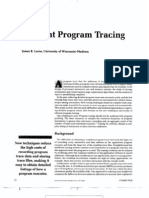 03 Program Tracing