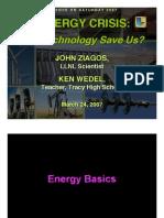 Economic Geo -- Energy Crisis