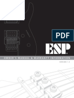 ESP Owners Manual