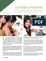 Artículo AG Artextil en Tirrases, revista enespera 41