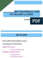 Impression Materials 1