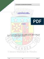 LEI ORGÂNICA DO MUNICÍPIO DE MENDES - ultima 18-11-2004 8pontos