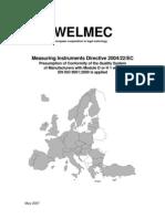 WELMEC 8.6 (Measuring Instruments Directive 200422EC)