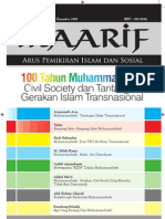 Jurnal Maarif Institute - Civil Society Dan Tantangan Gerakan Islam Transnasional