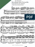 Stravinsky - Petrushka 3mvts