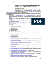 Ecriture Scientifique_informations Utiles & Bibliographies Diverses