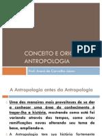 Conceito e Origem Da Antropologia Old