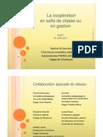 815 - Les cinq règles de la coopération, la pédagogie et la gestion au collégial