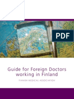 Guide for Foreign Doctors Working in Finland