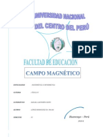 Lab Oratorio de Fisica MAGNETISMO