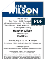Karl Rove Event on August 11 2011