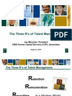 3Rs of Talent Management - Recruiting & Retaining Top Talent in Your Organization