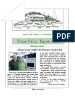August 2011 NVYC Newsletter