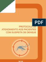 Protocolo de Atendimento Aos Pacientes Com Suspeita de Dengue 2011
