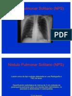 Nódulo+Pulmonar+Solitario+(NPS)