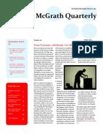 McGrath Quarterly - Summer Edition