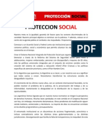 Protección Social - Ricardo Alfonsin 2011
