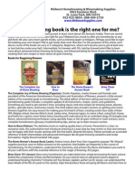 Which brewing book is the right one for me?