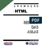 HTML Resumo Aulas v2010 1 Trimestre 2011
